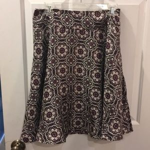 Lord and Taylor silk skirt